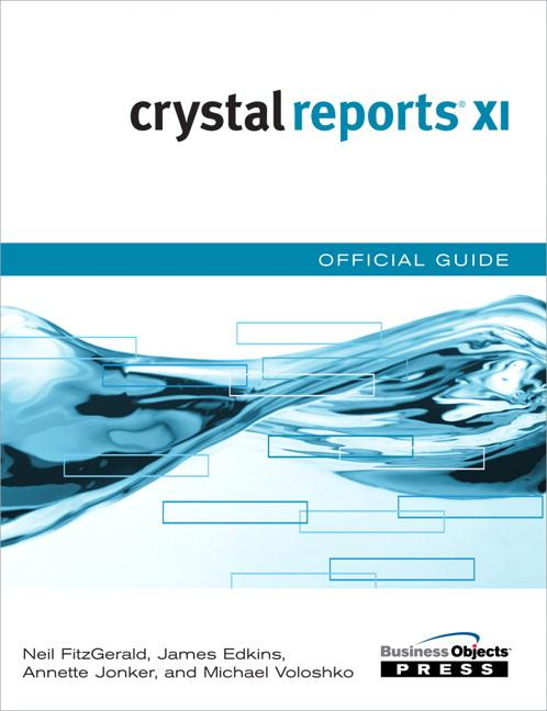 Crystal Reports XI Official Guide EB9780768668674