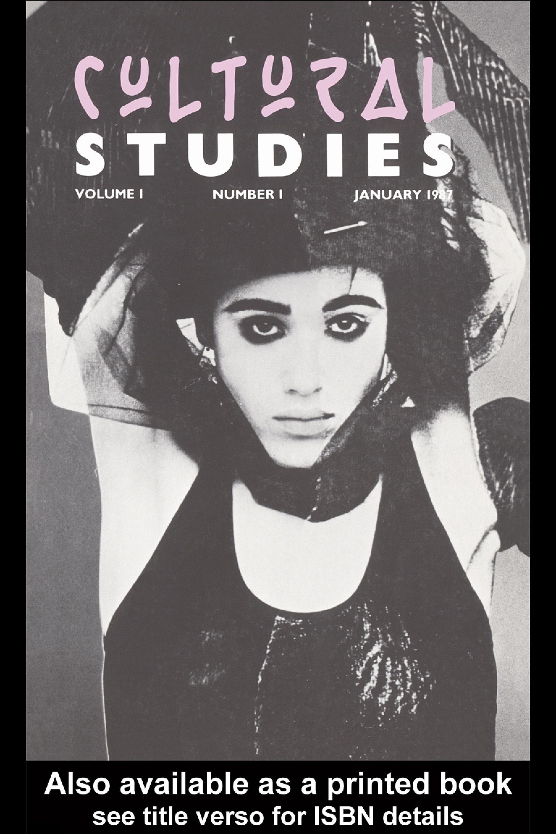 Cultural Studies EB9780203989722