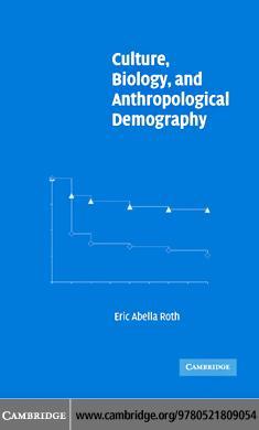 Culture Biol & Anthropol Demography EB9780511207952