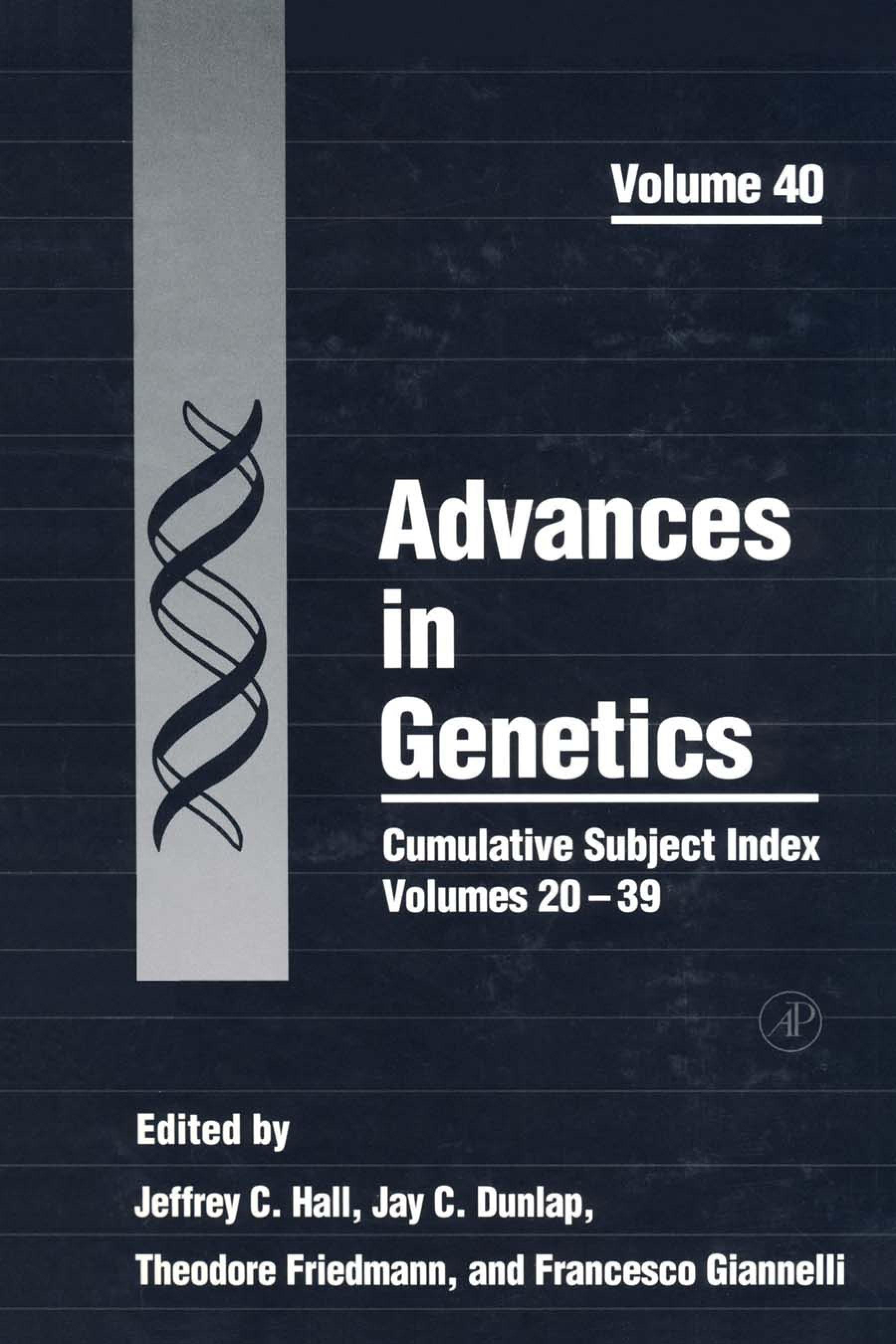 Cumulative Subject Index, Volumes 20-39 EB9780080568270