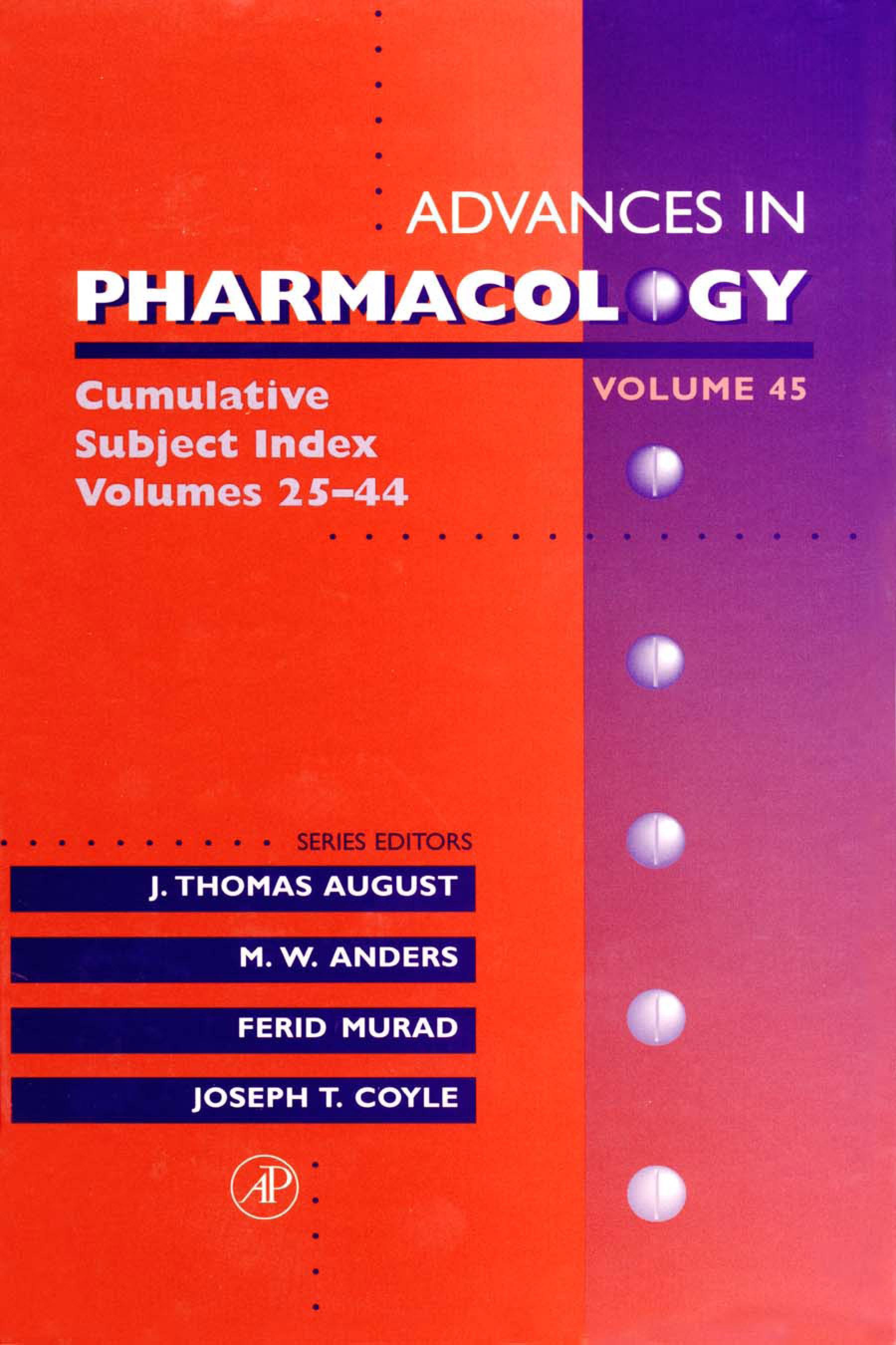 Cumulative Subject Index, Volumes 25-44 EB9780080581378