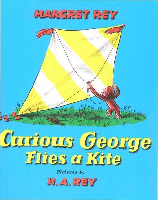 Curious George Flies A Kite EB9780547342542