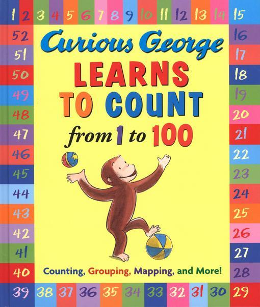 Curious George Learns to Count from 1 to 100 EB9780547562865