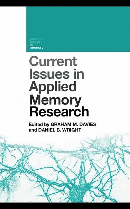 Current Issues in Applied Memory Research EB9780203869611