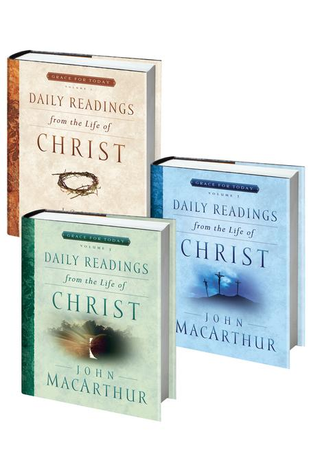 Daily Readings From the Life of Christ Volumes 1-3 EB9780802481467