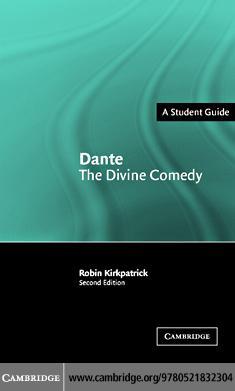 Dante: The Divine Comedy 2ed EB9780511162282