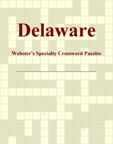 Delaware - Webster's Specialty Crossword Puzzles EB9780546425086