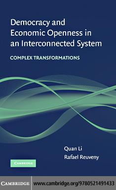 Democracy and Economic Openness in an Interconnected System EB9780511601705