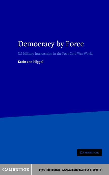 Democracy by Force EB9780511036866