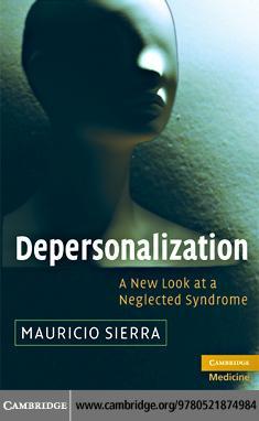 Depersonalization EB9780511730580