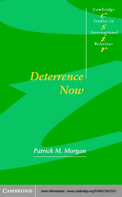 Deterrence Now EB9780511055683