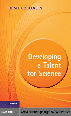 Developing a Talent for Science EB9780511922404