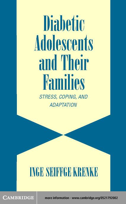 Diabetic Adolescents and their Families EB9780511031687