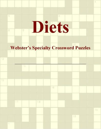 Diets - Webster's Specialty Crossword Puzzles EB9780546425260