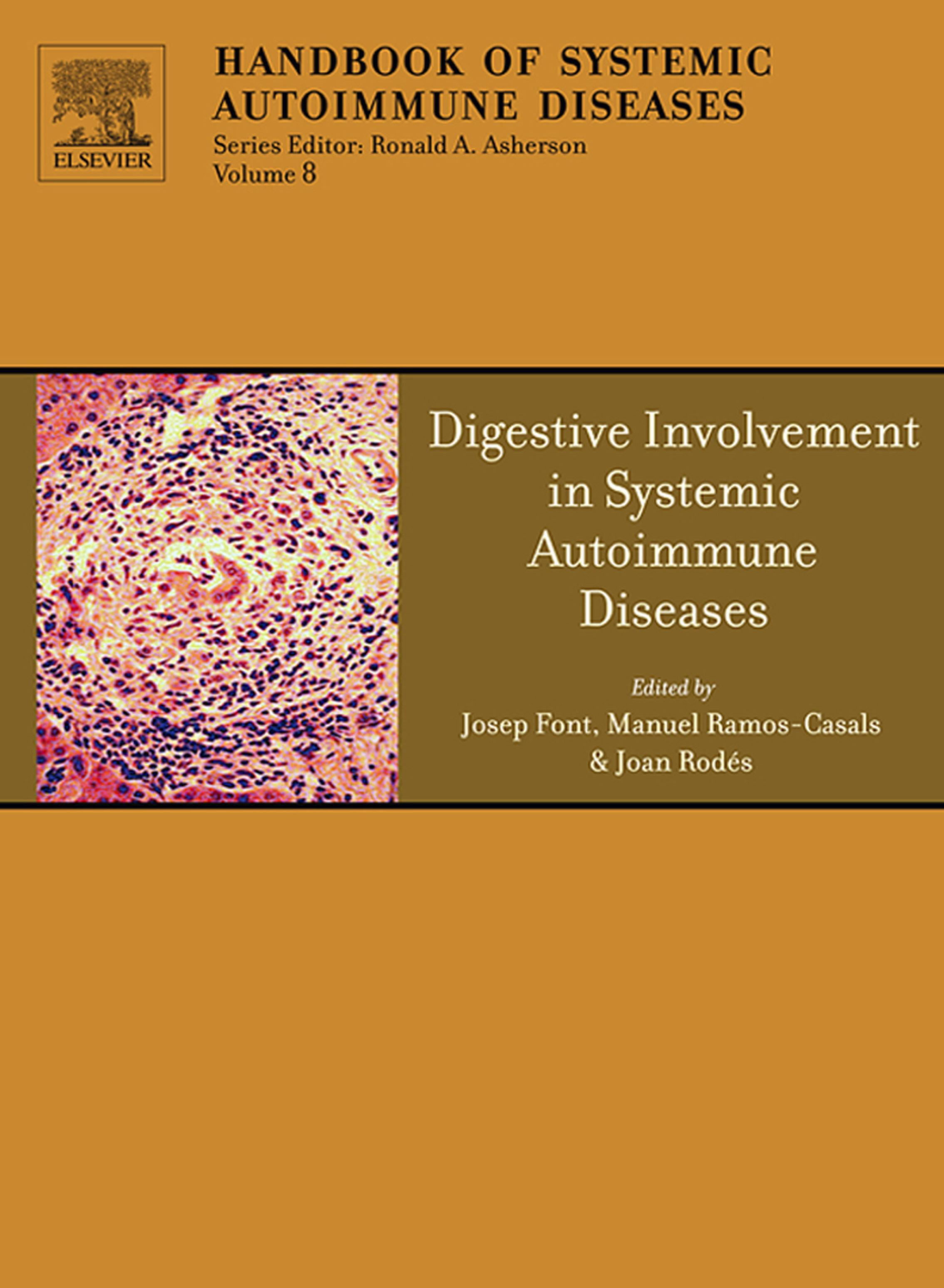 Digestive Involvement in Systemic Autoimmune Diseases EB9780080559315