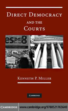 Direct Democracy and the Courts EB9780511629990