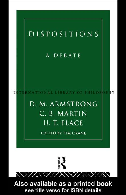 Dispositions EB9780203204030