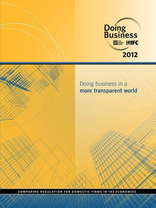 Doing Business 2012 EB9780821388341