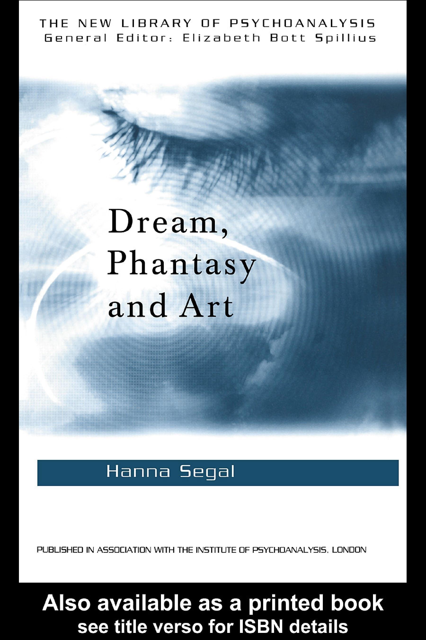 Dream, Phantasy and Art EB9780203013731
