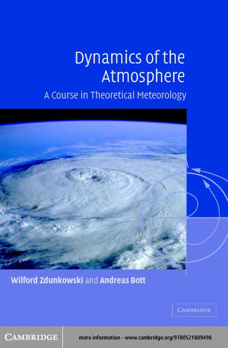 Dynamics of the Atmosphere EB9780511074943