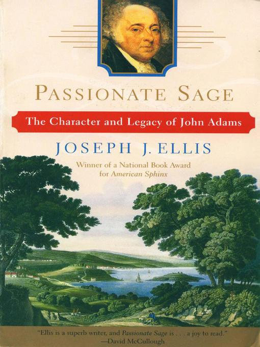 Passionate Sage: The Character and Legacy of John Adams EB9780393068276