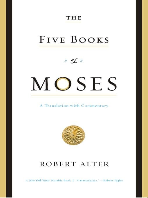 The Five Books of Moses: A Translation with Commentary EB9780393070248