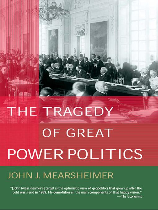 The Tragedy of Great Power Politics EB9780393076240