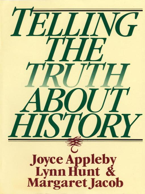 Telling the Truth about History EB9780393078916