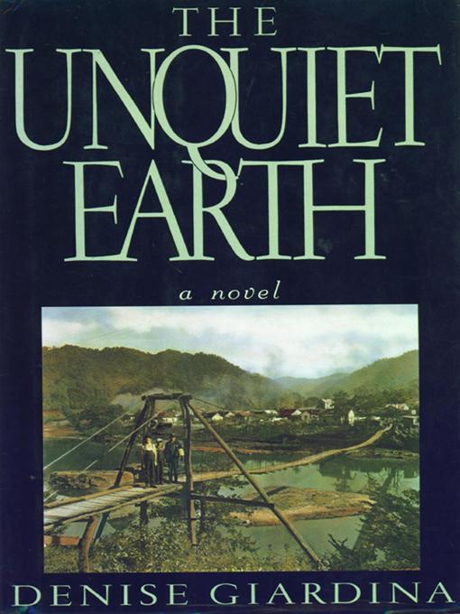 The Unquiet Earth: A Novel EB9780393081671