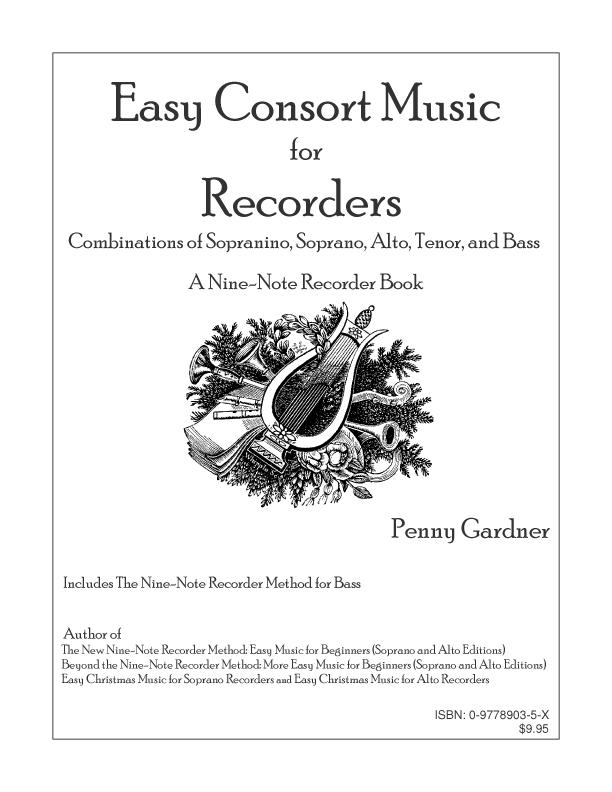 Easy Consort Music for Recorders EB9780977890354