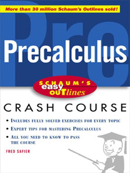Easy Outline of Precalculus
