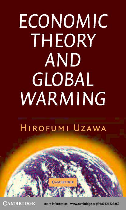 Economic Theory and Global Warming EB9780511055805