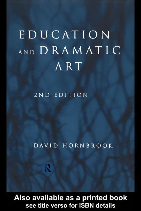 Education and Dramatic Art EB9780203180273