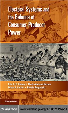 Electoral Systems and the Balance of Consumer-Producer Power EB9780511855535