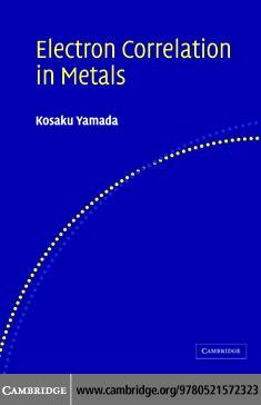 Electron Correlation in Metals EB9780511227042