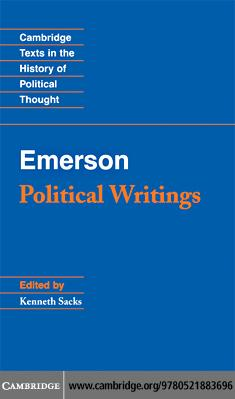 Emerson: Political Writings EB9780511402661