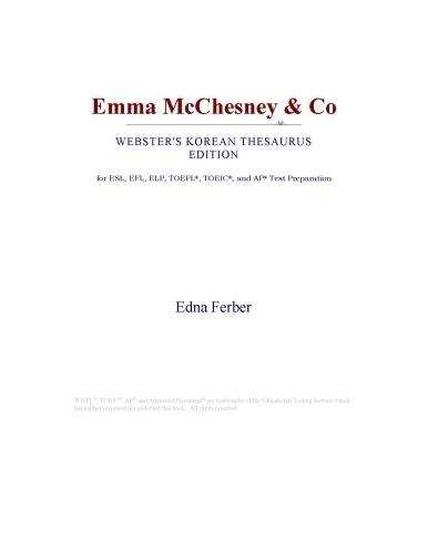 Emma McChesney & Co (Webster's Korean Thesaurus Edition) EB9780546830040