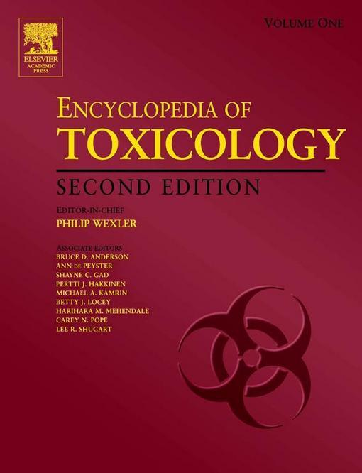 Encyclopedia of Toxicology EB9780080548005