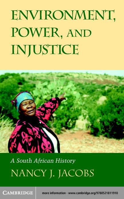 Environment, Power, and Injustice EB9780511058202