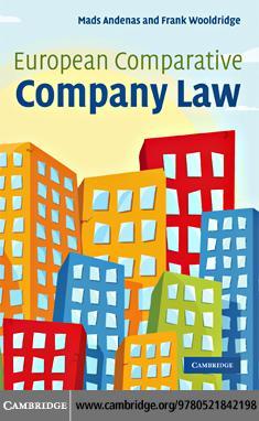 European Comparative Company Law EB9780511763526