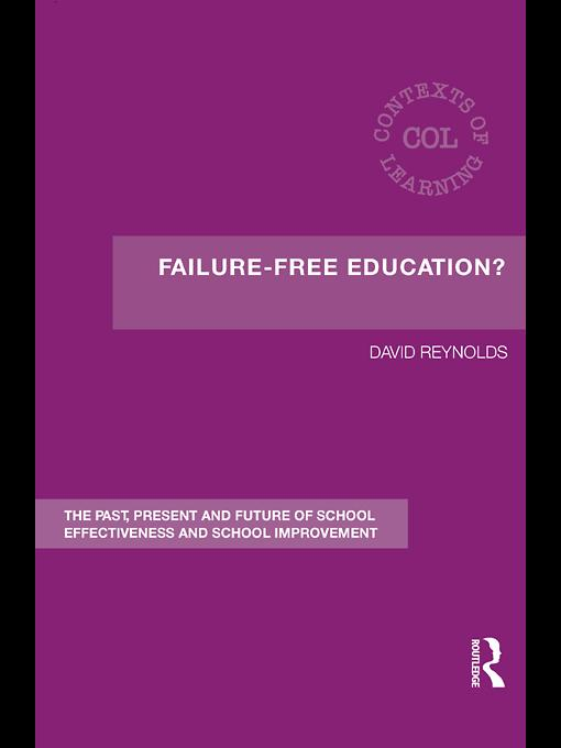 Failure-Free Education? EB9780203020234
