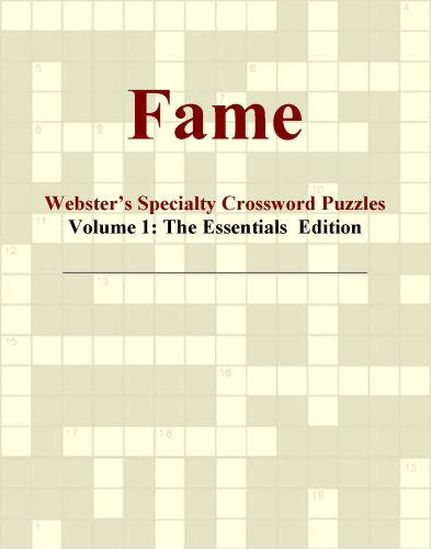 Fame - Webster's Specialty Crossword Puzzles, Volume 1: The Essentials  Edition EB9780546426182
