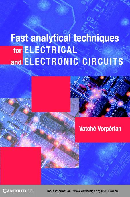 Fast Analytical Techniques for Electrical and Electronic Circuits EB9780511035548