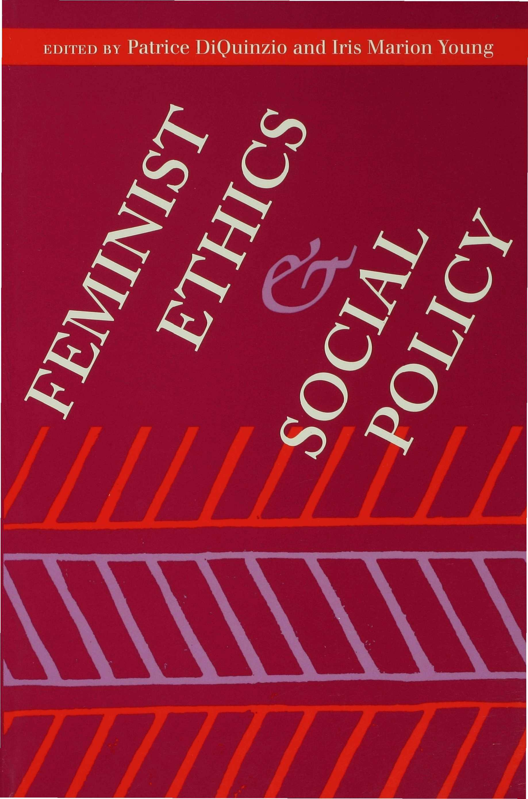 Feminist Ethics and Social Policy EB9780253114303
