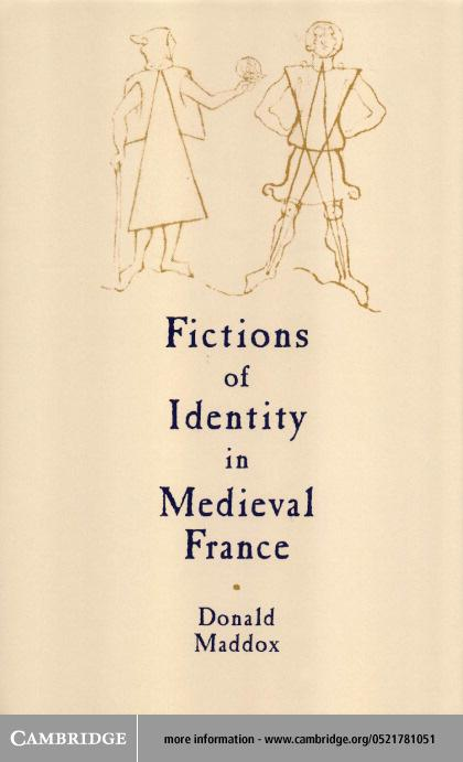 Fictions of Identity in Medieval France EB9780511030680