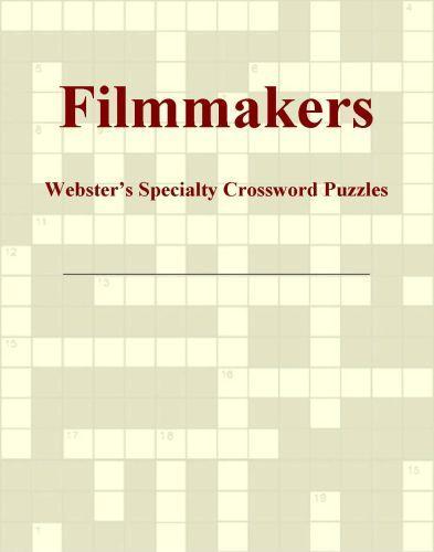 Filmmakers - Webster's Specialty Crossword Puzzles EB9780546818734