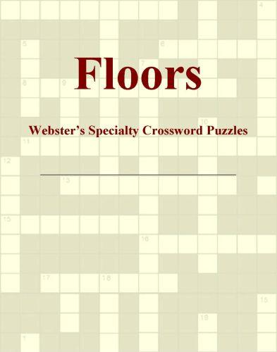 Floors - Webster's Specialty Crossword Puzzles EB9780546426502