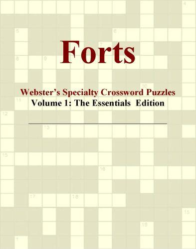 Forts - Webster's Specialty Crossword Puzzles, Volume 1: The Essentials  Edition EB9780546426540