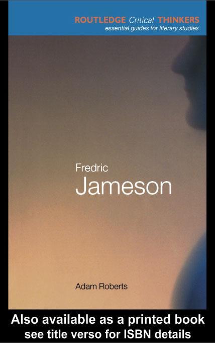 Fredric Jameson EB9780203187234
