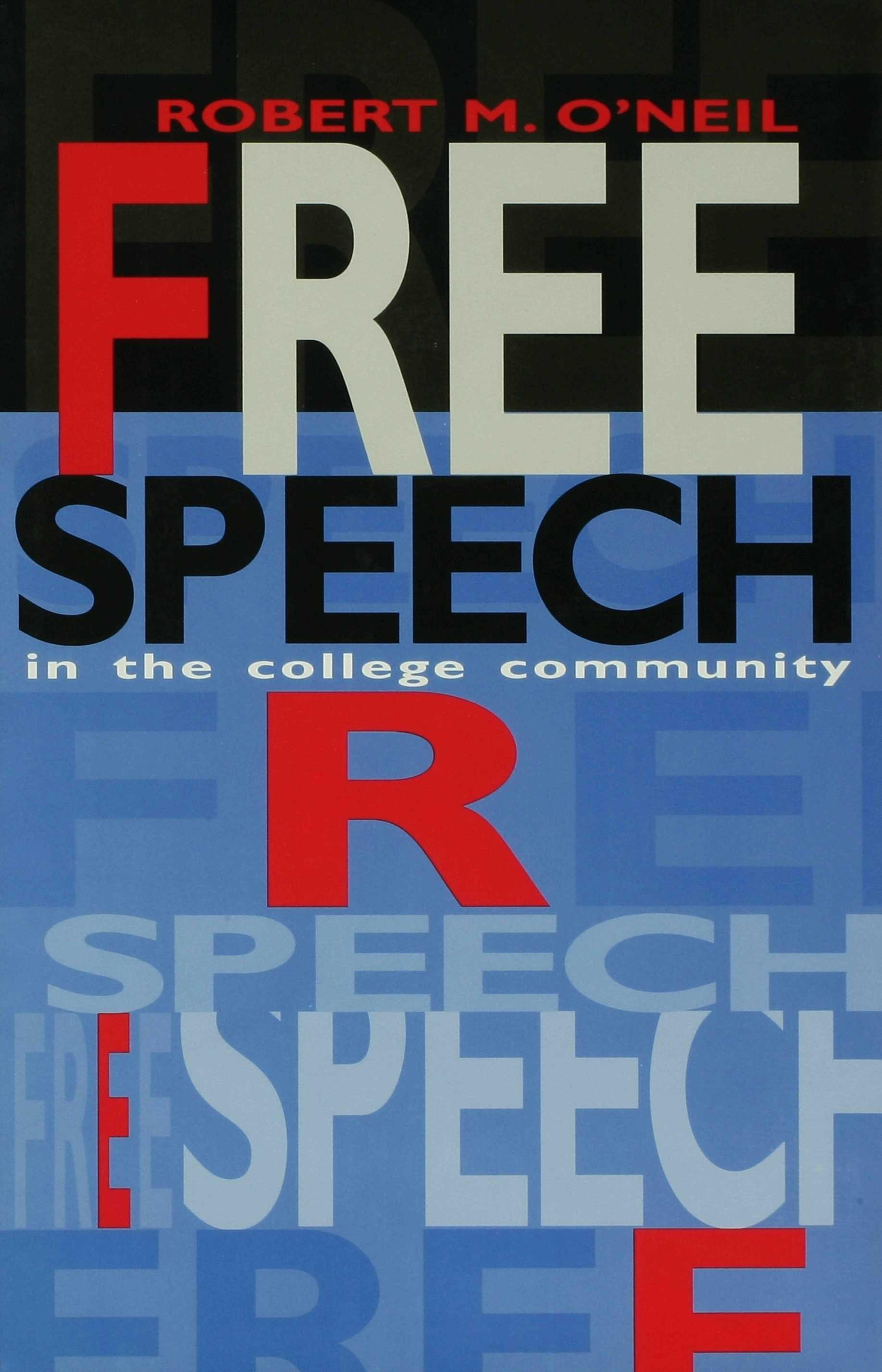 Free Speech in the College Community EB9780253113368